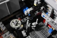 9 - Mechanism (KirtonBricks) Tags: millennium falcon lego mod moc 75192 custom star wars build building bricks gun technic gear
