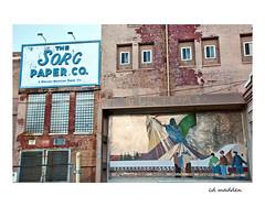 "Sorg Paper Company  ""Paper Records History and Progress"" (chuck madden) Tags: middletownohio abandonedfactory sorg history americana"
