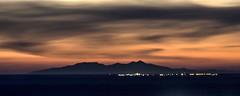Saintes-Maries de la Mer et Canigou vu des Alpilles (bruno Carrias) Tags: canigou saintesmariesdelamer alpilles sunset bouchesdurhône provence provencealpescôtedazur tourdesopies