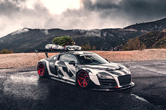 R8 LMS-35 (305FORGED Wheels) Tags: audi r8 lms widebody christmas cfi designs airlift camo winter stance supercar exotic racecar forged wheels