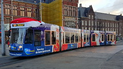 GVB Amsterdam Combino Tram number 2058 as Christmas Tram (Erwin's photo's) Tags: gvb amsterdam combino tram number 2058 christmas central station public transport the netherlands holland
