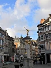 Place de l'Ange, Namur, Belgium (Paul McClure DC) Tags: namur namen belgium belgique wallonia wallonie ardennes feb2018 historic architecture