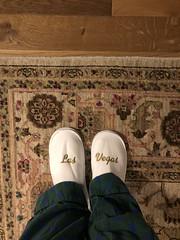 Las Vegas slippers