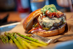 DSC_8935 (tozaw) Tags: burger 50mm 18d tasty delicious bun beef dinner d700 nikon