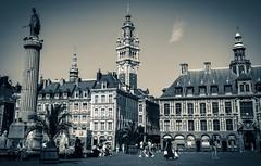 Place du Général de Gaulle, Lille (Ula P) Tags: lille france mainsquare monochrome sony sonyalpha