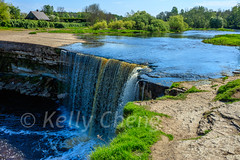 Estonia-180517-046 (Kelly Cheng) Tags: estonia europe jägalawaterfall bluesky color colorful colour colourful day daylight landscape nature nopeople nobody outdoor river sunny sunshine tourism travel traveldestinations vivid water waterfall