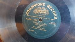 Gwlad y Delyn - Miss Annie Rees (Jacob Whittaker) Tags: shellac 78rpm gramophone record label vintage cymraeg