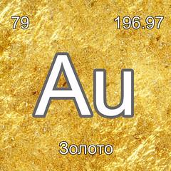 Хімічні елементи Золото Au InterNetri Ukraine