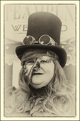 IMG_0133-7 Re-Edit (Scotchjohnnie) Tags: whitbysteampunkweekendfebuary2019 whitbysteampunkweekend steampunk costume portrait people female thepavillion yorkshire northyorkshire canon canoneos canon6d scotchjohnnie blackwhite mono monochrome canonef70200mmf28lisiiusm