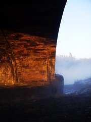 Just Add A Bit Of Mist... (Michael Helme) Tags: lancashire county council river ribble mist fog bridge
