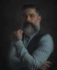 Self-portrait of a beardedman (jcalveraphotography) Tags: selfportrait selfie selfiebeard studio beard bearded beardlife beardedman portrait photo photographer projects people person picture pictorialism painting fineart face 365 explore eyes 365days