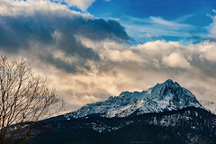 Bavaria, Germany, Winter 2011 (Claudio_R_1973) Tags: bavaria germany baviera europe alps mountain cold weather clouds snow tree landscape dramatic afternoon outdoor