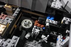 11 - Mechanism (KirtonBricks) Tags: millennium falcon lego mod moc 75192 custom star wars build building bricks gun technic gear