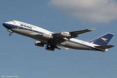 G-BYGC (Baz Aviation Photo's) Tags: gbygc boeing 747436 british airways baw ba heathrow egll lhr ba213 retro boac