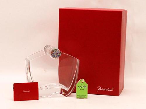 "Baccarat ""Ocenie"" Millefiori Sculptured Vase ($224.00)"