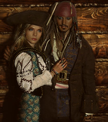 Pirates (28_stab_wounds) Tags: pirates hottoys sparrow action figure vcf2031 verycool