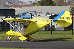 G-CBDO_04 (GH@BHD) Tags: gcbdo rajhamsa rajhamsaxair582 xair582 xair newtownardsairfield newtownards ulsterflyingclub microlight aircraft aviation