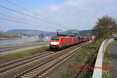 DB 189 031-8 + 189 044-1 (Phil.Kn.) Tags: siemens es64f4 189 db dbcargo rhein erzzug eisenbahn