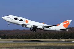 Magma Aviation (Air Atlanta Icelandic)  Boeing 747-4F6(BDSF) TF-AMN (widebodies) Tags: frankfurt hahn hhn edfh widebody widebodies plane aircraft flughafen airport flugzeug flugzeugbilder magma aviation air atlanta icelandic boeing 7474f6bdsf tfamn