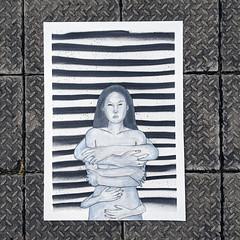 Limbprecise (id-iom) Tags: idiom street urban art graffiti woman arms hands droctopus marvel limbs precise