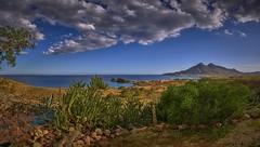 Fotos desde La Loma (ZAPIGATA) Tags: cabodegata cielo clouds almeria andalucia atardecer sunset sky spain sea españa europe beach paisaje playa panoramica mar mediterraneo montaña nubes zapigata