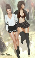 "Look 439 (Marzia & Shaitan Demon ""Frozen Space Fashion Blog ) Tags: maitreya catwa genusproject ncore blueberry vanillabae arcade ayashi stealthic gacha event bento secondlife avatar friends mesh"