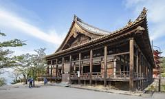 Senjokaku pavilion (fnks) Tags: asia japan tokyo hiroshima miyajima island sea trees ropeway shrines buddhism temples ferry sky deer beach tides tanterns water sunshine mountains
