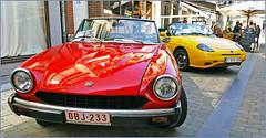 Deux Fiat, Rétrofolies 2018 de Spa, Belgium (claude lina) Tags: claudelina belgium belgique belgië spa voiture car rétrofolies oldcar ancêtres vieillesvoitures fiat