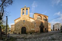 Mare de Déu de l'Assumpció (Jordi Castellà) Tags: anya artesa noguera romanic romanesque bn pano panoview