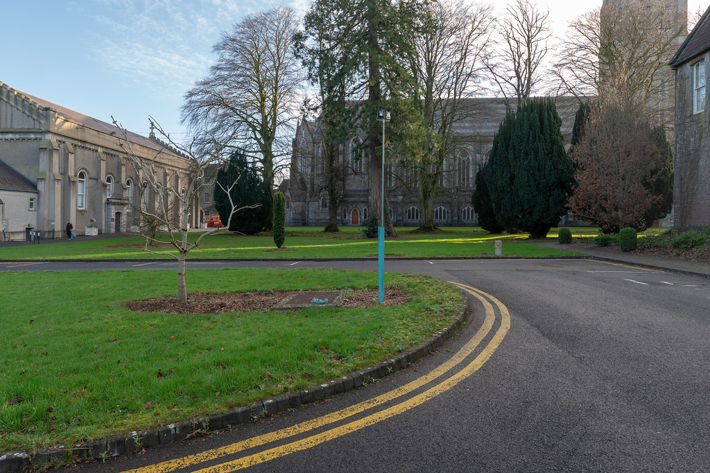 TODAY I VISITED ST. PATRICK'S COLLEGE IN MAYNOOTH [THE NATIONAL SEMINARY OF IRELAND]-147802