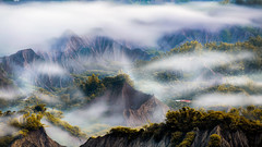 Sea of clouds (Isaac Chiu_TW) Tags: seaofclouds foggy clouds mountains bamboo 308highlands canon canonphotography landscapes taiwan taiwanmt tainan