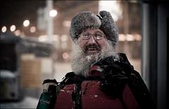photographer_beard_snow_01_8779842024_o (wvs) Tags: cold night snow toronto ontario canada can