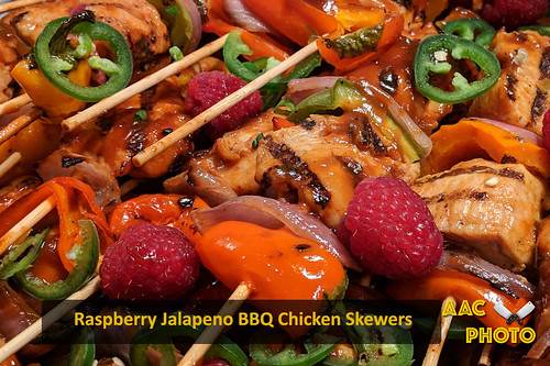 "Raspberry Jalapeno BBQ Skewers • <a style=""font-size:0.8em;"" href=""http://www.flickr.com/photos/159796538@N03/46085196215/"" target=""_blank"">View on Flickr</a>"