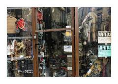 Napoli Walls 7: Pinochio (Jean-Louis DUMAS) Tags: marionnette naples napoli italie italia rue street life streetlife vitrine commerce bazar reflets reflection mur wall story
