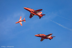 The Red Arrows (deltic17) Tags: valentine reds theredarrows redarrows bae hawk plane display team jet squadron bombercounty lincolnshire scampton scamptonheritage rafscampton canon canon5dmk4 break split aircraft
