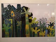 De la branche au coquelicot (bpmm) Tags: colysée lambersart art expo nord exposition lucievandevelde dessin peinture illustration