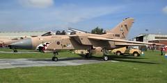 Panavia Tornado GR.4 ZD793 on Gulf War static display, RAF Cosford Airshow 10.06.18 (Trevor Bruford) Tags: raf cosford airshow shropshire west midlands 100 years aircraft airplane planes panavia tornado gr4 zd793 gulf war jet fighter bomber aviation warbird