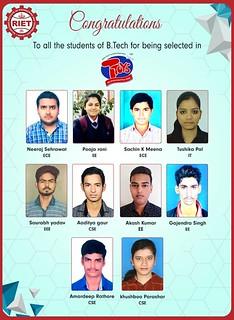 Campus Drive at RIET Jaipur - Ttoys Bazar Pvt. Ltd
