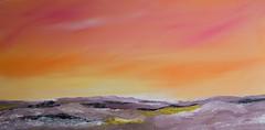 dream sky (Xtraphoto) Tags: acrylic acryl painting canvas sky landscape landschaft himmel
