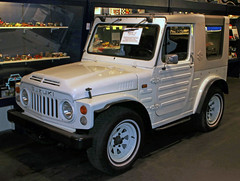 LJ80 (Schwanzus_Longus) Tags: automuseum museum melle german germany japan japanese old classic vintage car vehicle 4x4 awd 4wd offroad offroader suzuki lj80