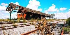 Estación Divisadero, Pinamar, Argentina (mavricich) Tags: tren trenes pinamar argentina buenosaires mar playa vacaciones costa atlántica atlántico