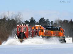 Dozer Time (Missabe Road) Tags: bnsf snowdozer 940022 2647 1511 saunders plow snow