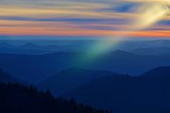 Vosges du Nord (Michal Jeska) Tags: vosgesdunord vosges mountains hills sunset lensflare sunflare goldenhour bluehour france alsace grandwintersberg niederbronnlesbains sonya7 ilce7 canonfd200mmf40 outdoor outside elsass