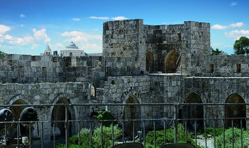 Courtyard Tower of David