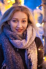 _MG_1213 (phreddyy) Tags: rebeka model lady woman beauty glamour eyes winter xmas salisbury location uk night lights market canon 5dmkii 5d2 portrait headshot