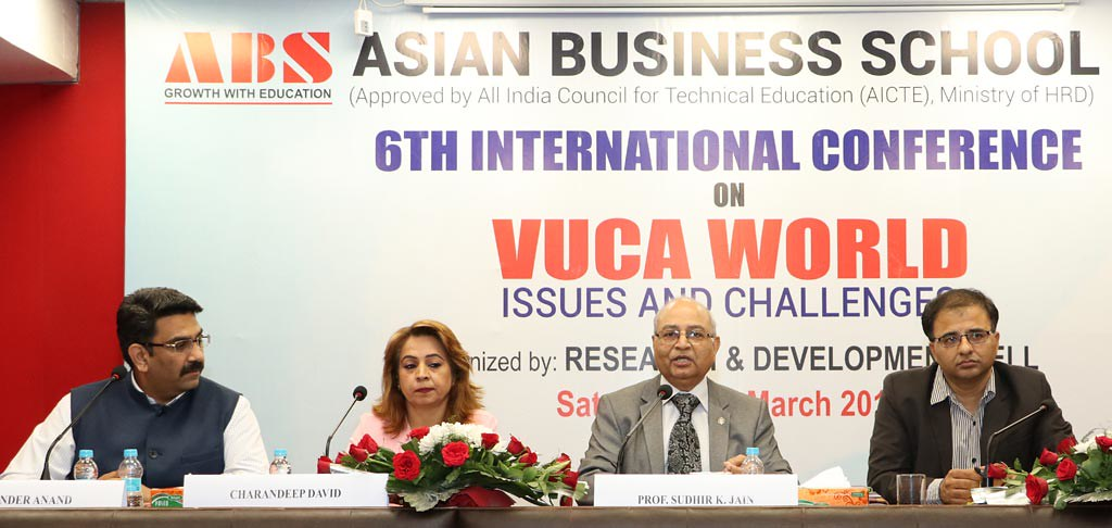 VUCA World Challenges and Issues - Plenary session Image Gallery