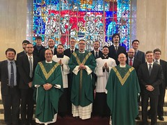 Bishop Mark Bartchak (Altoona-Johnstown) celebrated Mass with the seminary community on February 19, 2019.