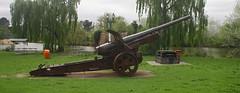 WW1 German Gun 15cm, K16 Krupp [ Nr.103 kp.1918 ] (Stuart Curry) Tags: captured artillery gun western front france aif 1918 anzac