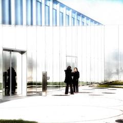 un jour le Louvre/Lens (pierre Moulin) Tags: france pasdecalais nord nordpasdecalais hautdefrance lens louvre louvrelens architecture musée femmes lumières reflets parallèles