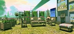 CIRCA LIVING @ RFL of SL HOME & GARDEN EXPO (JoytiBloom of Second Life) Tags: 100meshoriginal mesh secondlife indoor outdoor design landscape home decor homeliving garden photography fashion circaliving rfl homeandgardenexpo